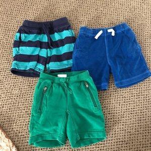 Hanna Andersson Boy Cotton Shorts Bundle